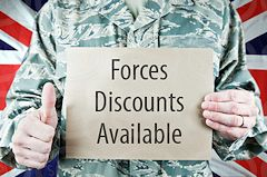 Forces Discounts Available