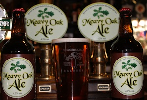 Meavy Oak Ale at the Royal Oak Inn