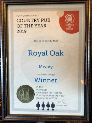 CAMRA Country Pub of the Year 2019