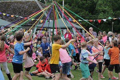 Meavy Oak Fair - Maypole Dance
