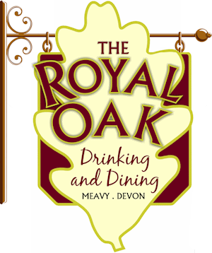The Royal Oak Inn pub sign