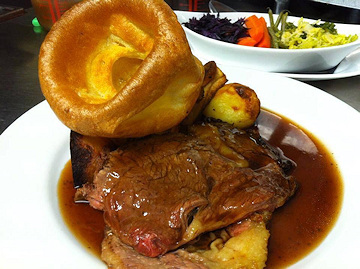 Roast Beef for Sunday Lunch